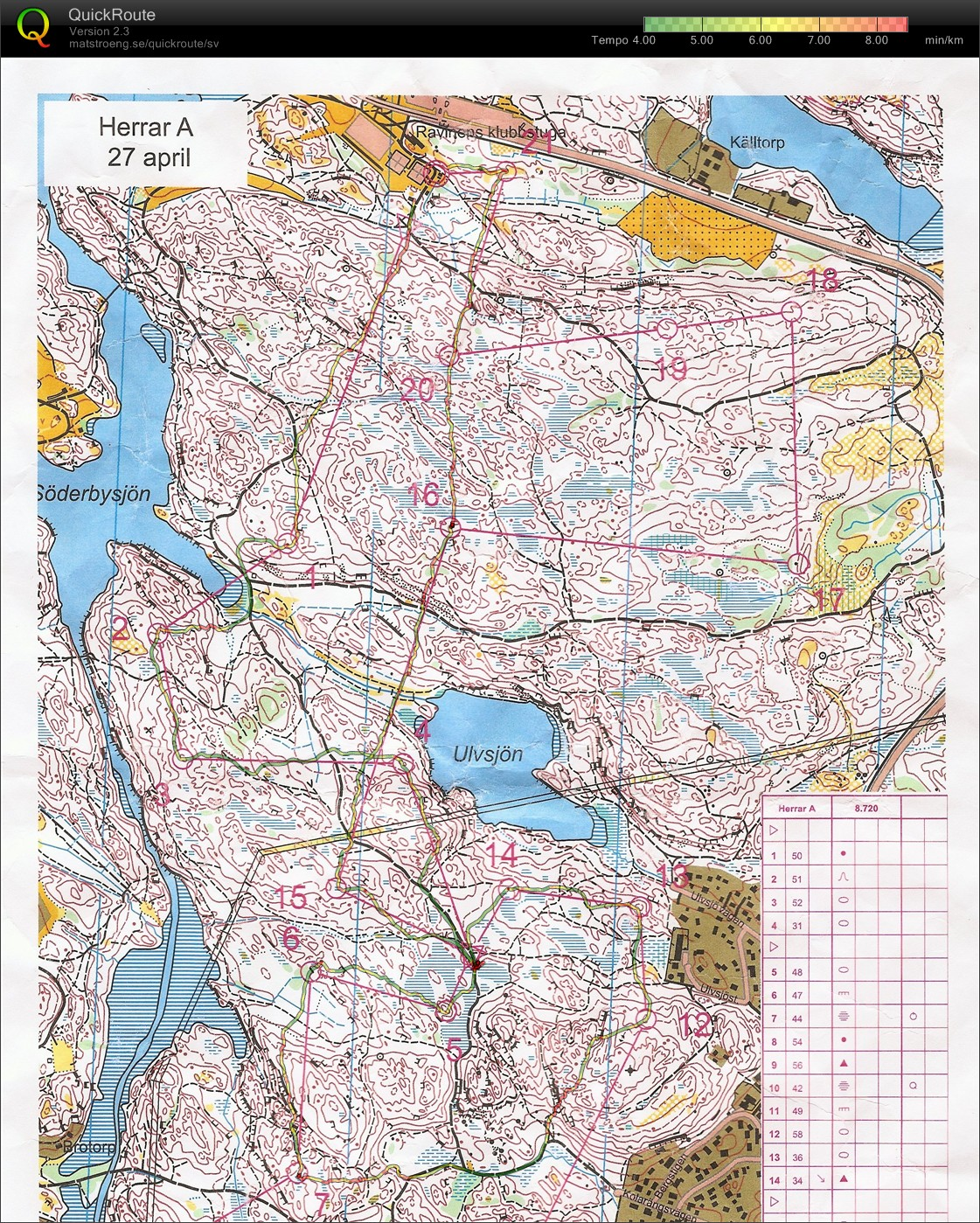 hellasgården karta Mitt digitala kartarkiv :: OL intervaller Hellasgården (27/04/2010) hellasgården karta